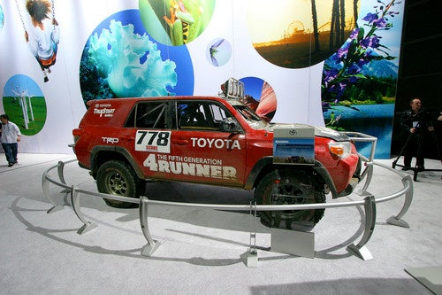 2010 Toyota 4Runner Baja 1000 Gallery: L.A. Auto Show
