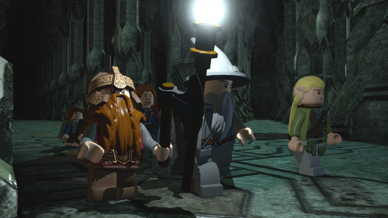 Watch the Lego Balrog Fight the Lego Fellowship in Lego Lord of the Rings