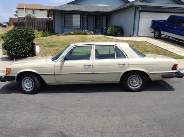 A W116 for my daughter's first car?