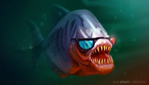 """Man Refused Piranha 3D Rental From Blockbuster Due to """"Health and Safety"""""""