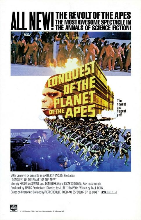 """Fox Kills """"Caesar,"""" Its Smart Reboot Of The """"Planet Of The Apes"""" Franchise"""