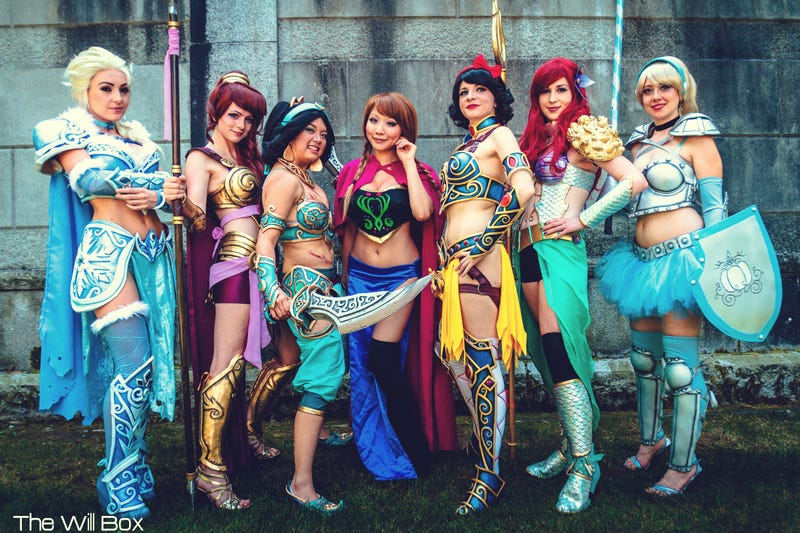 Sick Of Dancing, Disney's Princesses Are Ready For Battle