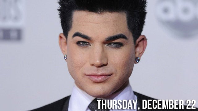 Adam Lambert & Boyfriend Busted Over Gay Bar Brawl