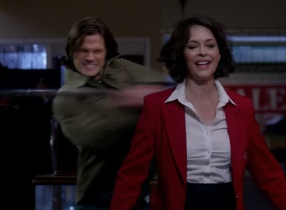 On Supernatural, there are scary ballerinas and real estate agents