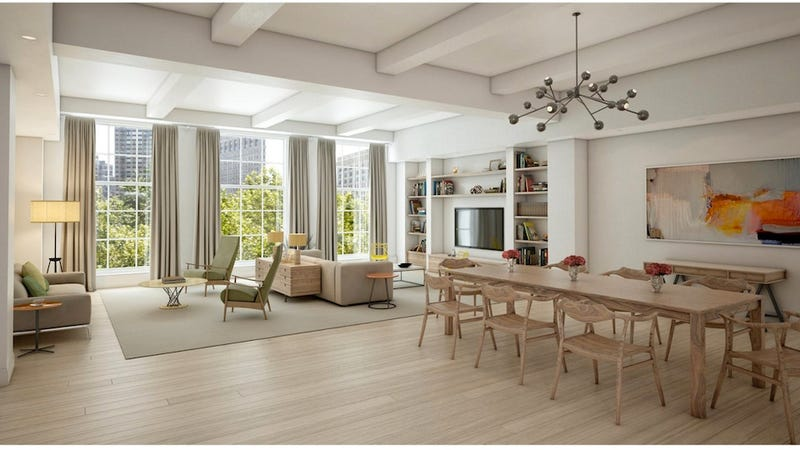 Here's What Chelsea Clinton's $10.3 Million Apartment Looks Like