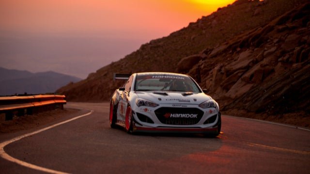 Rhys Millen Sets Pikes Peak Record With 9:46 Climb