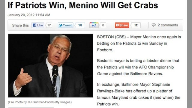 Today In Hilariously Misleading Headlines About NFL Playoff Bets Between Mayors