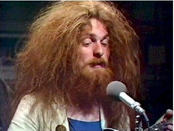 Simon Cowe from Lindisfarne is Groundskeeper Willie