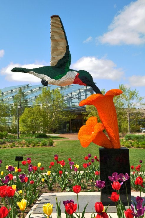 These Incredible Lego Beasts Liven Up Iowa State's Reiman Gardens