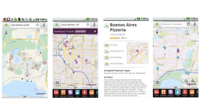 Mapquest Gives Android Users a Free Turn-By-Turn Nav App