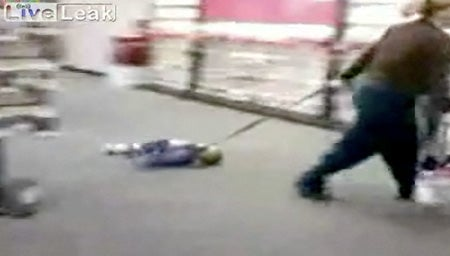 Parent Of The Year Arrested After Dragging Kid Through Verizon Store On a Leash