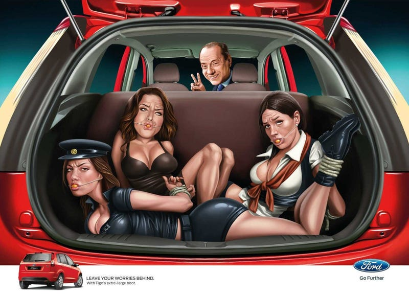 The Ten Most Offensive Car Ads Ever Made