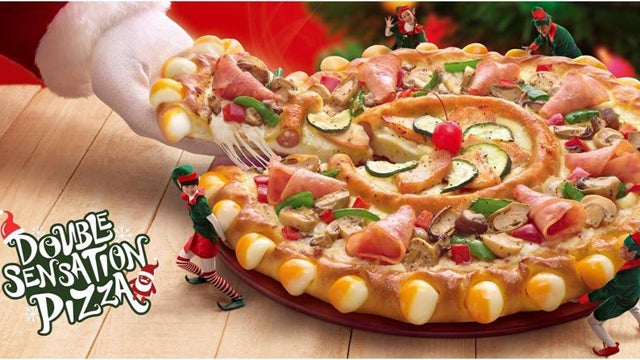 Pizza Hut Achieves Pizza Within A Pizza; Mine Eyes Have Seen the Glory of the Coming of the Lord