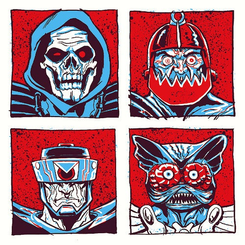 Artists Take on He-Man and the Masters of the Universe