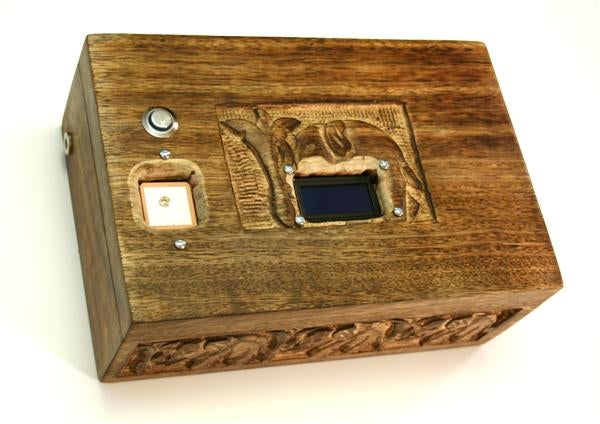 GPS Puzzle Box Only Opens In One Specific Location
