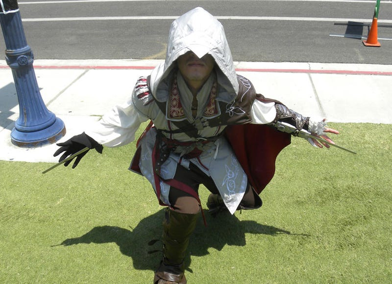 Way To Blend In, Ezio