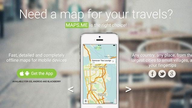 Cómo guardar mapas en tu móvil para utilizarlos cuando no hay conexión
