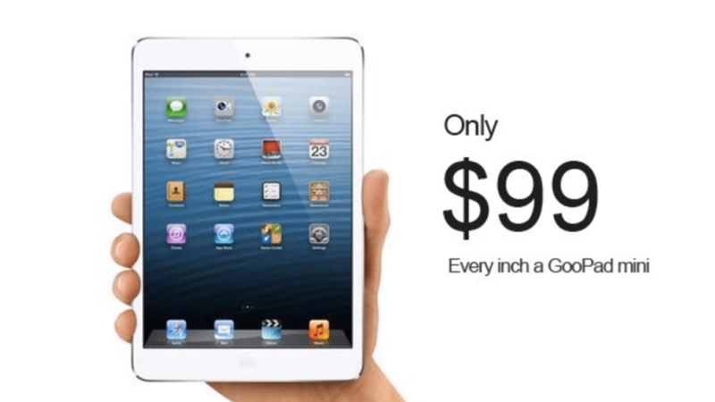 There's Already an iPad Mini Knockoff