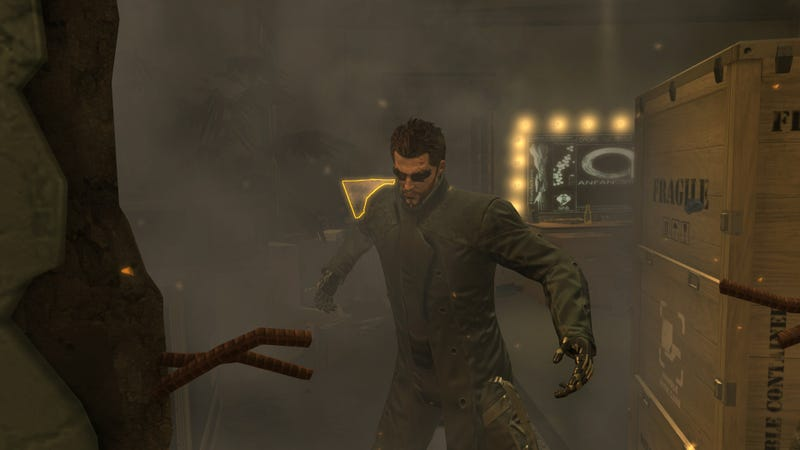 "Deus Ex Mod Removes ""Gold"" Filter, Game Suddenly Looks Even Better"