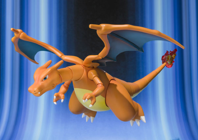 To Train This Charizard Action Figure, You Don't Need Badges. You Need Money.