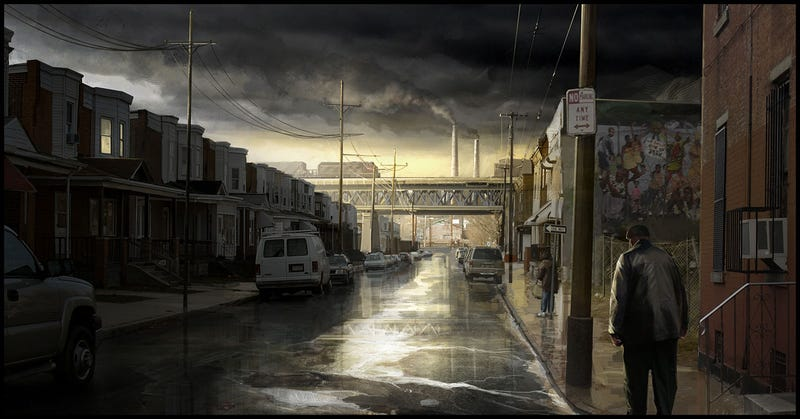 Don't Get Caught Out in Heavy Rain's Concept Art