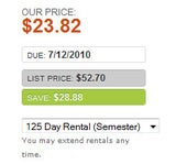 BookRenter Rents You Textbooks on the Cheap