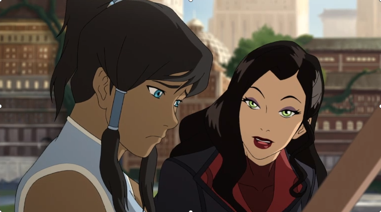 Korrasami is Totally a Thing in new Korra Sneak Peak