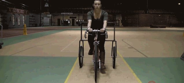 You Can't Steer a Bike in Zero Gravity, Even If The Road's Magnetic