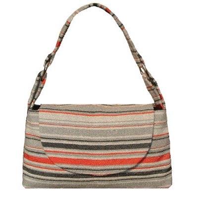 Kim White Creates Handbags From Vintage Automotive Interior Fabric