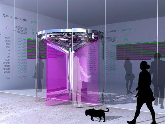 Fluxxlab Revolution Door is Eco-Friendly, People-Powered Power Station