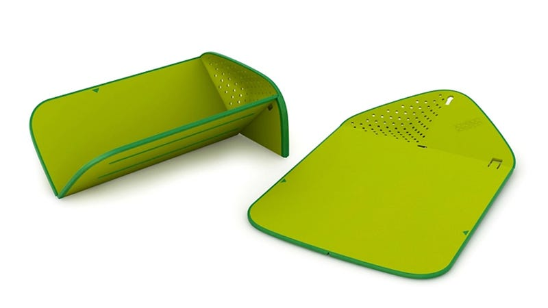 This Cutting Board Colander Is a Multi-Tasking Champ