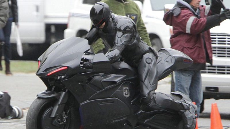 Meet Remake Robocop's Goofy New Motorcycle