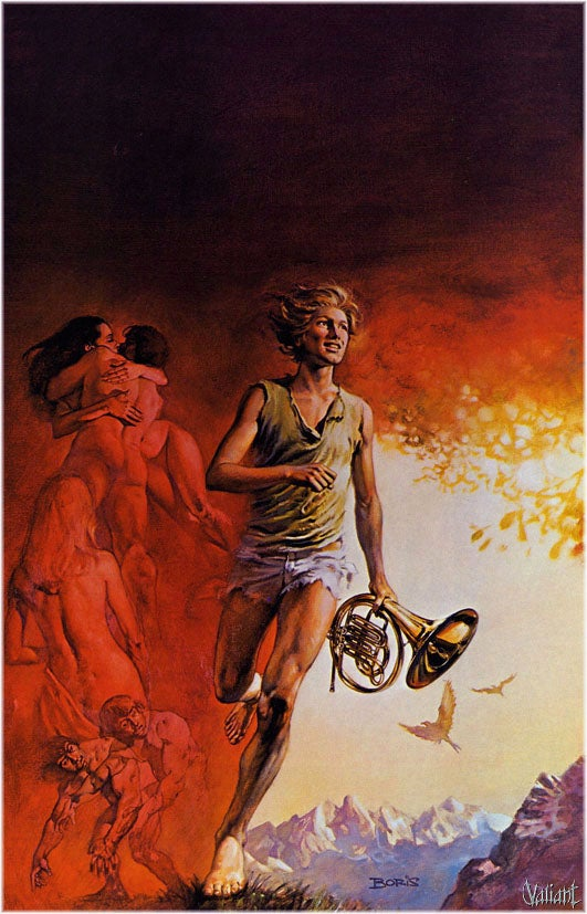 Boris Vallejo Is The Most Manly Illustrator In History (NSFW)
