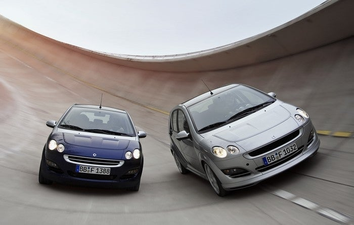 Long Lost Hot Hatches - Smart ForFour Brabus