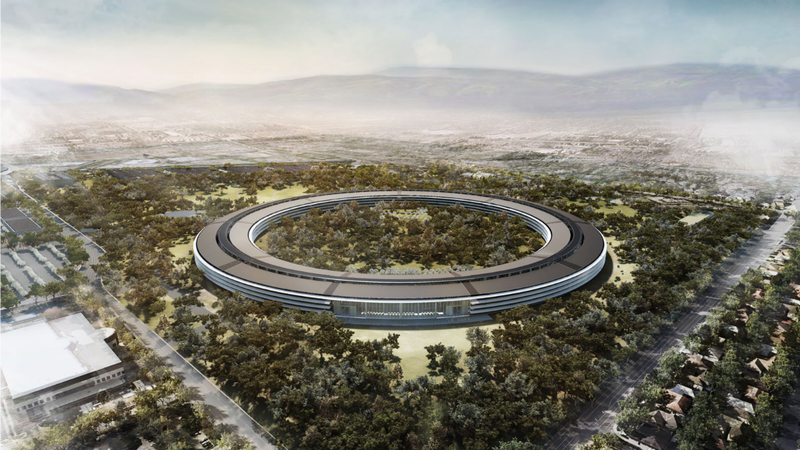 Apple's Spaceship HQ Is Getting a Downgrade From Absurd to Just Plain Extravagant