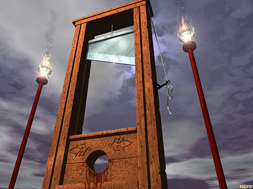 Commenter Executions: The Guillotine Has Fallen