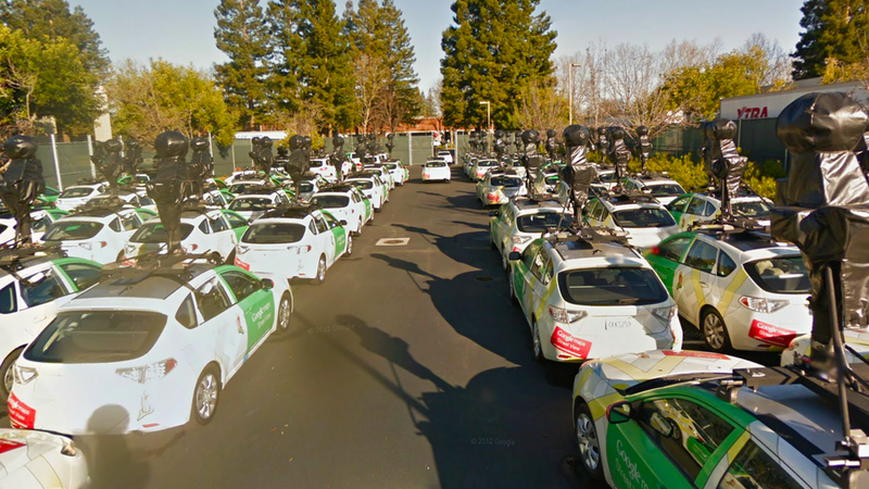 No Wonder Street View Is So Good When Google Has This Army of Cars
