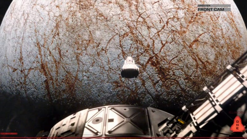 See New York Premiere of Europa Report at the Hayden Planetarium