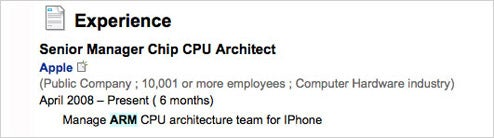 Apple Employee Posts Job Description On LinkedIn, Divulges Future iPhone CPU Plans