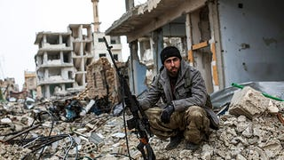 Airstrikes Drive ISIS from Kobani, Leave City in Ruins