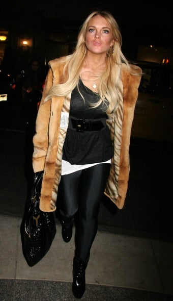 Woman Wants Six Figures For Alleged Lohan Coat Theft