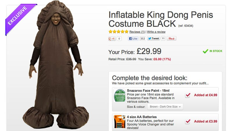 Oh, Look! It's the Most Offensive Halloween Costume of All Time!