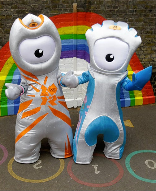 Presenting The London Olympic Mascots Photoshop Contest