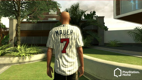 Grab a Major League Jersey in PlayStation Home