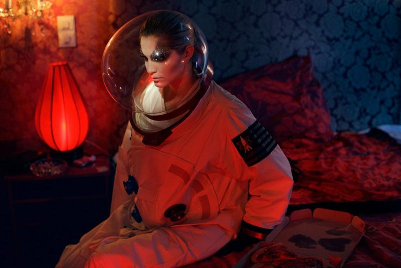 Concept Art Writing Prompt: The Glamorous Astronaut