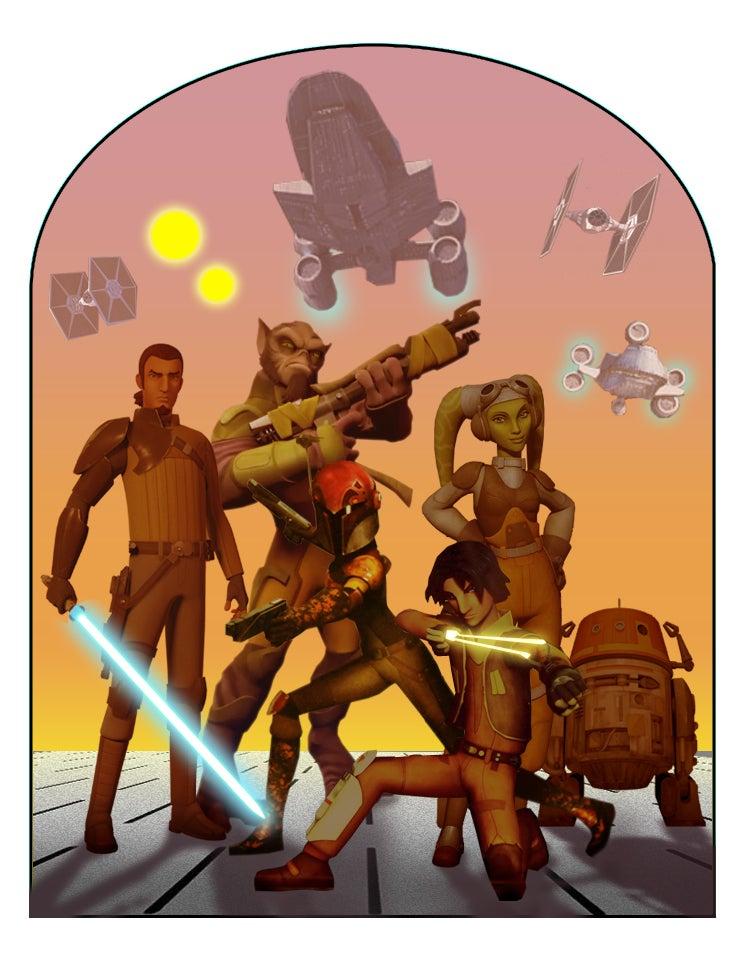 Imagining Mara Jade And Teenage Leia in Star Wars Rebels