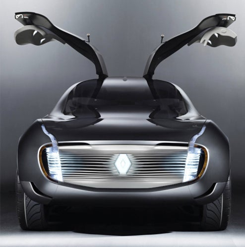 Renault Ondelios Concept Sets Gullwing Doors Into Attack Mode Ahead Of Paris