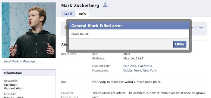 Why Did Mark Zuckerberg Make Himself Unblockable on Facebook? (Updated)