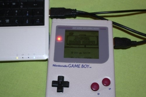 Gutted Classic Game Boy Made Into 80GB Hard Drive