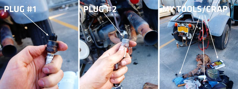 How To Fix A Broken Spark Plug With Teeth, Tape, And Jumper Cables
